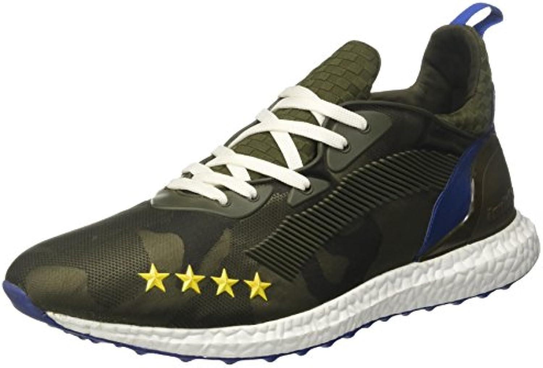Invicta Unisex Erwachsene Microfiber Niedrige Sneaker  Blau  Billig und erschwinglich Im Verkauf