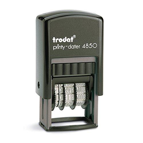 Trodat 4850L1 Datumsstempel Printy 3,8 mm Eingegangen