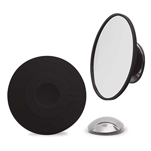Bosign Cosmetic Mirror 15 x Magnification with Magnetic Extension Bar, Black -