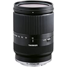 Tamron AF 18-200 mm F:3.5-6.3 Di III VC - Objetivo para Canon E-M (Estabilizador VC, diámetro: 62mm), negro