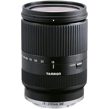 Tamron 18-200 mm VC Di III for Sony NEX - Black