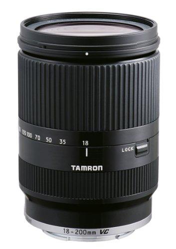 Tamron AF 18-200 mm F:3.5-6.3 Di III VC - Objetivo para Canon EOS-M (Estabilizador VC, diámetro: 62mm), negro