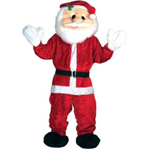 Riesiger Weihnachtsmann Weihnachten Verkleidung Karneval Maskottchen (Maskottchen Weihnachts Kostüme)