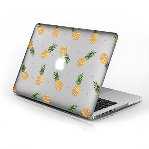 für MacBook Air 33cm Modellnummer A1369und A1466, Series 6Design mit klarer unten Fall, kommen mit Tastatur Cover Pineapples 33 cm (13 Zoll) ()