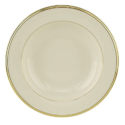 Lenox Eternal 9-Inch Gold-Banded Fine China Pasta/Soup Bowl, Set of 4