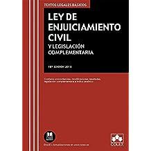 Ley de Enjuiciamiento Civil y Legislación Complementaria: Contiene concordancias, modificaciones resaltadas, legislación complementaria e índice analítico (TEXTOS LEGALES BÁSICOS)