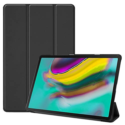 20 - TenYll Samsung Galaxy Tab S5e Funda, CHasis portátil [Ultra-Delgado] [Ultra-Ligero] Smart Tablet PC Holder para Samsung Galaxy Tab S5e Tableta -Negro