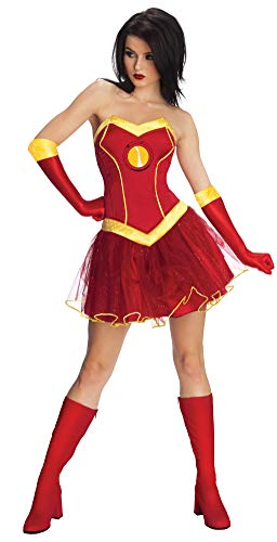 Rubie 's Offizielles Damen Marvel Miss Iron Man Rescue, Erwachsenen-Kostüm - Medium 12-14