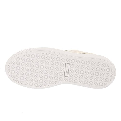 Puma Damen Basket Platform Patent Wn's Sneaker Beige