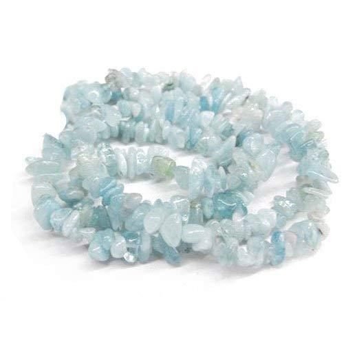 Lungo fili 240+ blu chiaro acquamarina 5-8mm chips tagliato a mano perline gs3089 (charming beads)