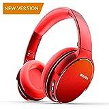 Kopfhörer Bluetooth Winisok Headset, drahtloser Bluetooth-Kopfhörer mit Mikrofon Klappbarer Bluetooth-Kopfhörer mit Audiokabel für iPhone XS, X, 8, 7Plus, 6s, 6 Samsung Sony Huawei