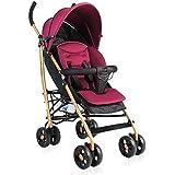 YINGER Summer Infant Convenience Pliante Cochecito Speed Plus Cochecito de cuatro ruedas Peso ligero , purple
