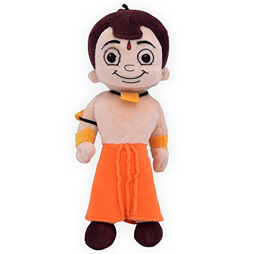 Chhota Bheem Plush Toy, Orange (22 cm)
