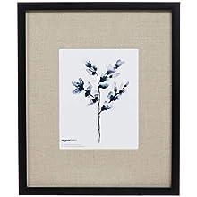 AmazonBasics Gallery Wall Frame - 36 x 43 cm for 20 x 25 cm Display, Black (2-Pack)