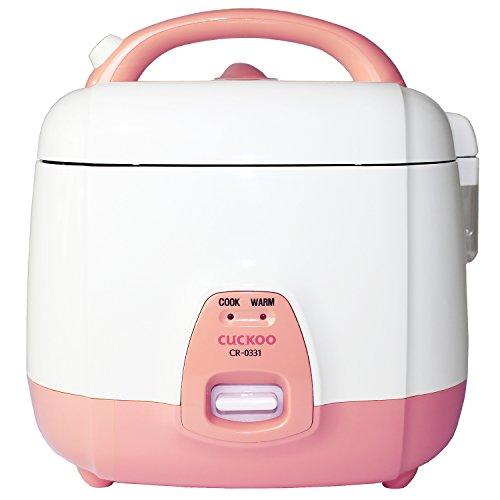 Cuckoo CR-0632 elektrischer Reiskocher mit langer Lebensdauer, 1,08l für bis zu 4 Personen