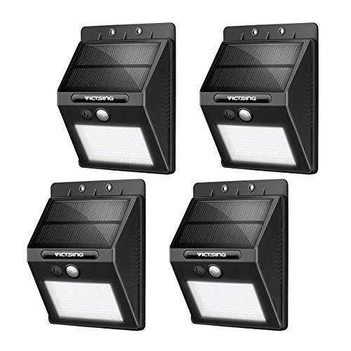 VicTsing Luces Solares LED Exterior, Lámpara Solar con Sensor de Movimiento Impermeable...