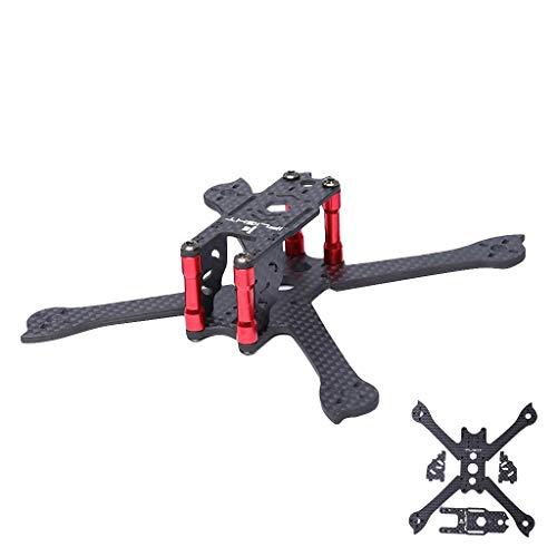 Elicottero telecomandato-TianranRT IFlight RACER iX3 Lite V3 Telaio in fibra di carbonio FPV da 3 pollici da 145 mm per Drone da corsa Modello di giocattolo,Nero