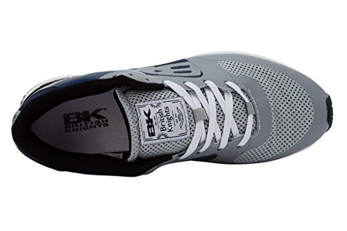 British Knights Impact, Sneaker Basse Donna GRIGIO CHIARO/BLU NAVY