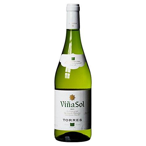 Torres Viña Sol - Vino Blanco, 0,75 L