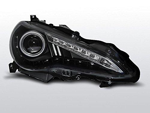 Preisvergleich Produktbild Scheinwerfer TOYOTA GT8612-schwarz Tru DRL