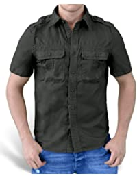 Surplus Homme chemise à manches courtes Raw Vintage Checkered