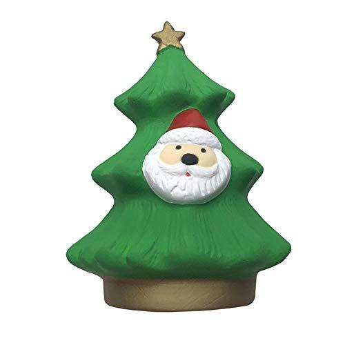Giocattoli morbidi natalizi, albero di natale kawaii babbo natale morbidi squishies profumati slow rising squeeze toys giocattoli antistress