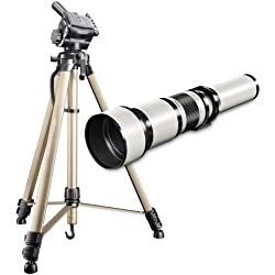 Téléobjectif walimex pro 650-1300/8-16 IF pour Nikon AF/MF+WT3570