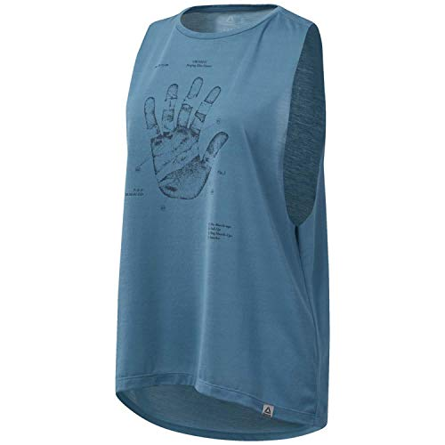 Reebok Damen Rc Science Hand Muscle ärmelloses T-Shirt, minmis, M