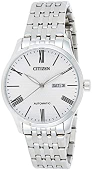 CITIZEN Mens Automatic Watch with Day and Date Display - Powered by High precision Made in Japan Self winding