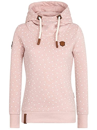 Naketano Damen Sweatshirt Put The D On Me rosa melange