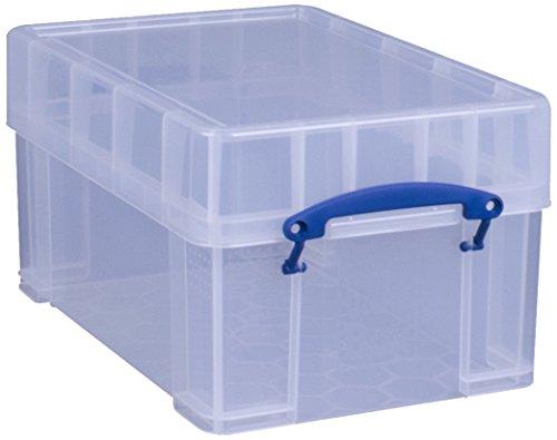 Really Useful Box X-Large 9Liter Vinyl Aufbewahrungsbox, transparent -
