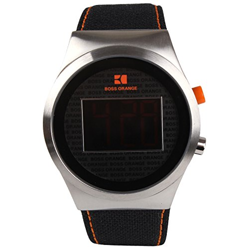HUGO BOSS 1512759 ORANGE COLLECTION NYLON RELOJ PULSERA HOMBRE
