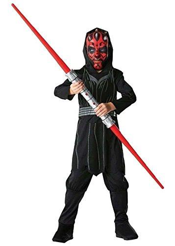 Darth Maul Kostüm für Kinder 5-6 Jahre (Darth Maul Kinder Kostüm)