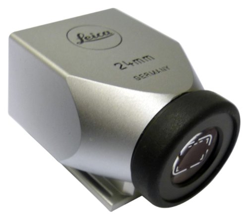 Leica brightline Finder m-24 Silber Leica Brightline Finder