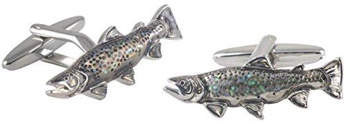 Silver Glitter Pesce Gemelli di David Van Hagen