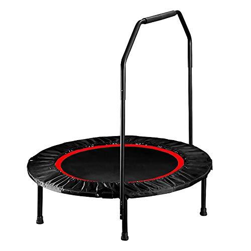 Liuliangmei Hammer Fitness Trampolin Cross Jump 92 cm Sprungfläche, Tragkraft bis 150 kg für die Fitness von Erwachsenen,Red
