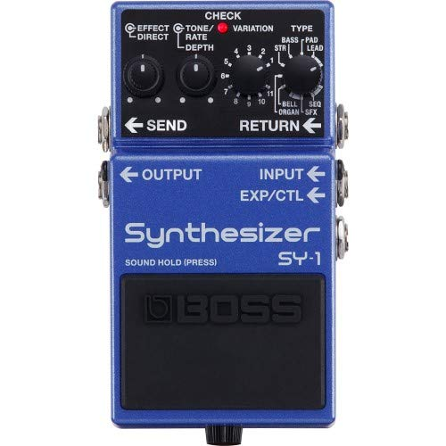 Boss Sy-1 Synthesizer Gitarrenpedal