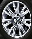 """1 x BMW-Ruota in lega, da 223 48,26 cm (19"""") V-Spoke bordo posteriore (36 11 037 348 8)"""