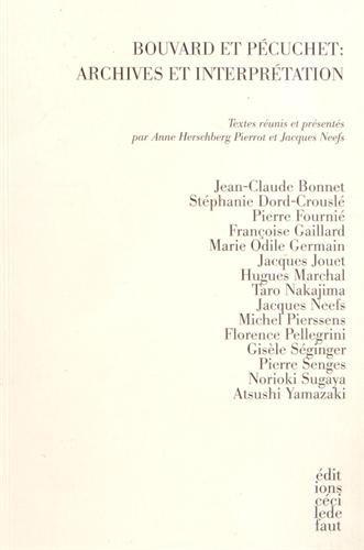 Bouvard et Pecuchet : archives et interprétation