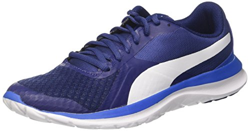 Puma FlexT1, Zapatillas Unisex Adultos, Azul (Blue Depths-White-Lapis Blue), 44 EU