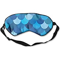 Comfortable Sleep Eyes Masks Blue Fish Printed Sleeping Mask For Travelling, Night Noon Nap, Mediation Or Yoga preisvergleich bei billige-tabletten.eu