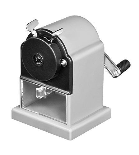 Jpc créations Machine à Taille-crayon 12 mm Gris/Noir