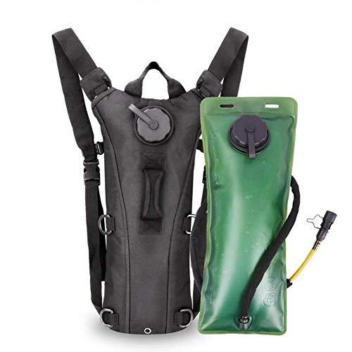 Fahrradrucksack-Breathable Waterproof Radfahren Trinkrucksack Rucksack, Travel Running Daypack zum Wandern Fahrradrucksack mit 3L-Wassersack Vatertag, Weihnachten, Geburtstagsgeschenk (Khaki)