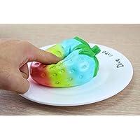 Bebé Bebés y primera infancia Footprintse Nuevo Oso Lento Rebote Squishy Juguete PU Simulación Pan Descomprimido Descompresión Ventilación Decoración Lindo Regalo para los niños