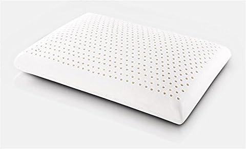 GMM® Oreiller support mémoire oreiller perméabilité à la maison d'oreiller en latex naturel humidité polyester lavable au cou , 60*40*12cm