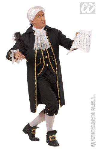 Kostüm Komponist - Barock Kostüm Komponist Herren Gr. M 48 50
