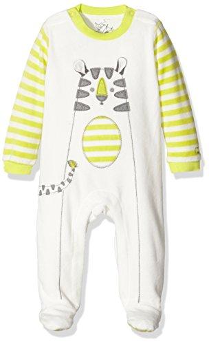 Bóboli Unisex Baby Body Velour Play Suit For, Elfenbein (White 1111WF), 56 (Herstellergröße: 1M)