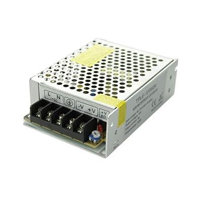 GPH® 49004E LED Netzteil Input:100 to 240V AC 50/60Hz 12V DC / 60W 5A LED Trafo Adapter Driver Transformator für LED SMD RGB Leiste Stripe von EiMM GmbH - Lampenhans.de