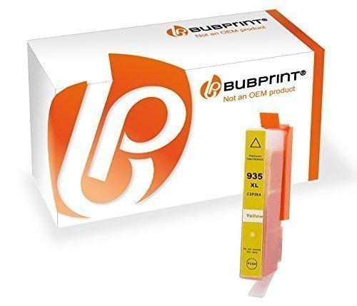 Bubprint Druckerpatrone kompatibel für HP 935XL 935 XL für OfficeJet 6800 Series 6815 6820 6822 6825 Pro 6200 Series 6230 6235 6239 6830 6835 Gelb