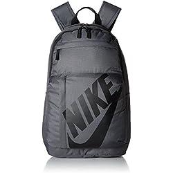 Nike Elmntl Bkpk Mochila, Unisex Adulto, Negro/Gris Oscuro, S